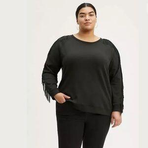 NWT Levi's Reese Crewneck Sweatshirt Black, 2XL